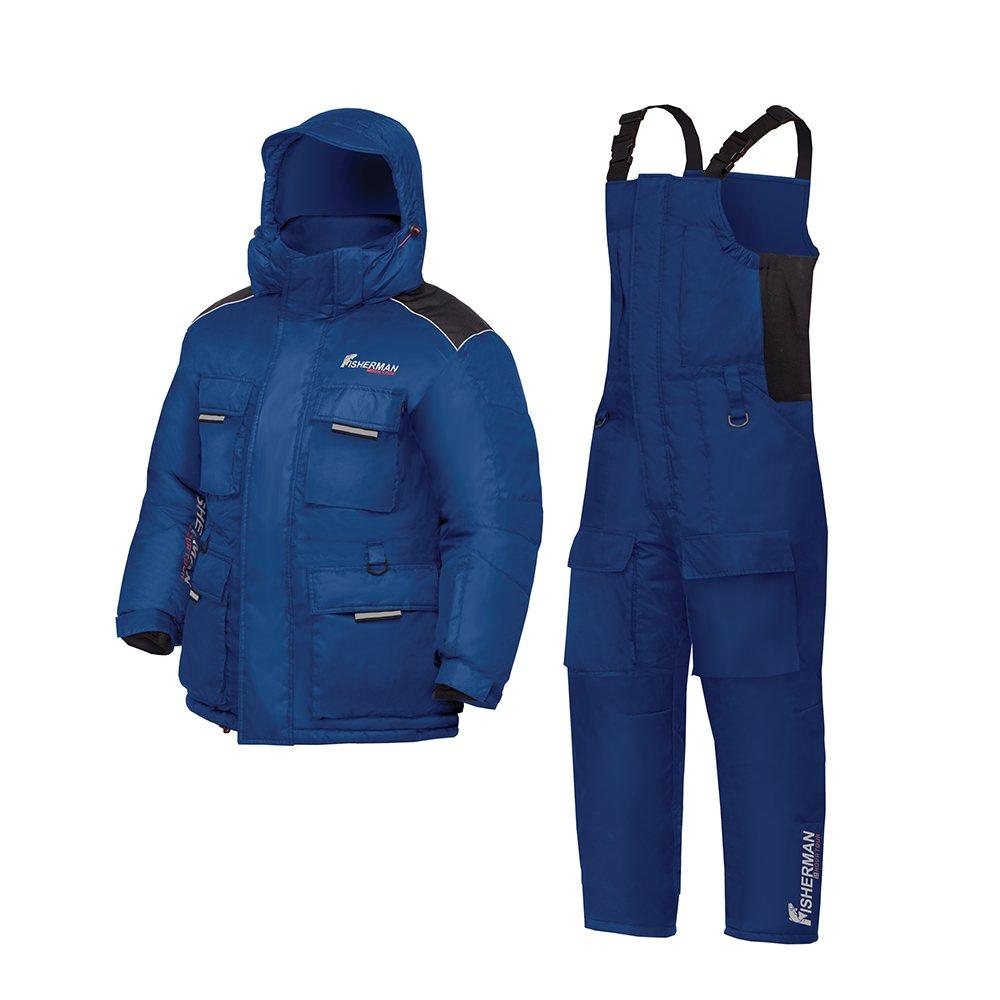 Зимний костюм  «Буран Норд» синий