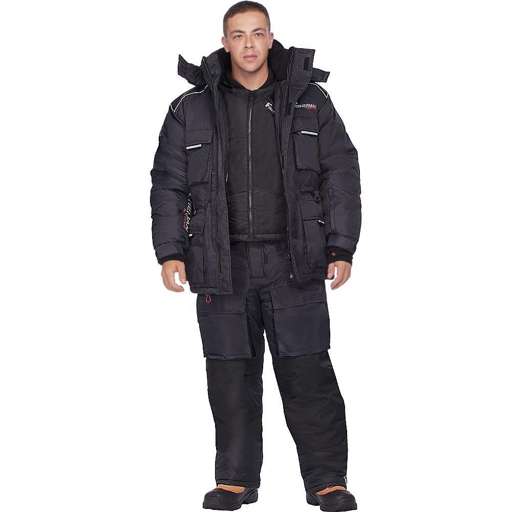 Зимний костюм  «Буран Норд» черный