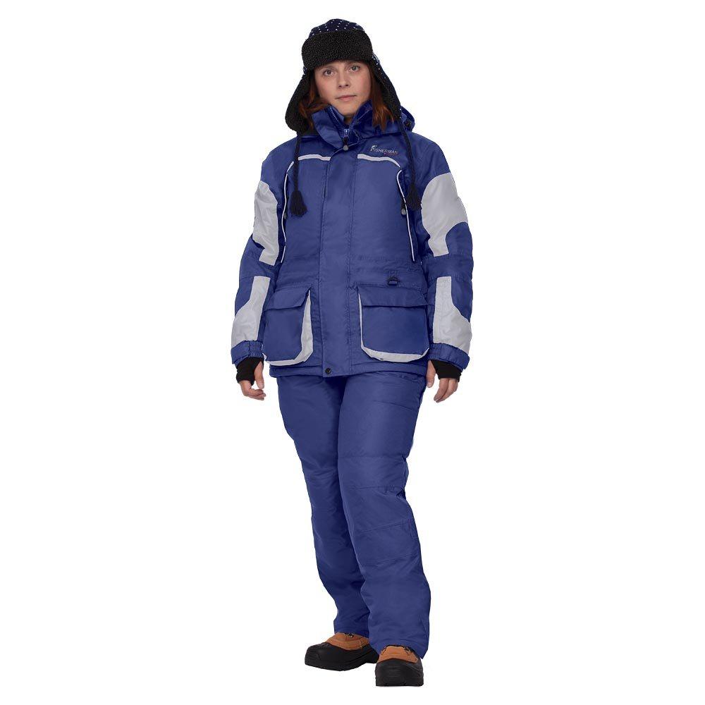 Женский утепленный костюм «Фишермен Леди» синий