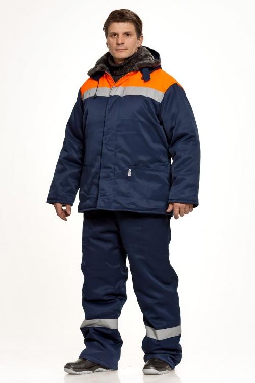 Куртка «Бригадир» оранжевый