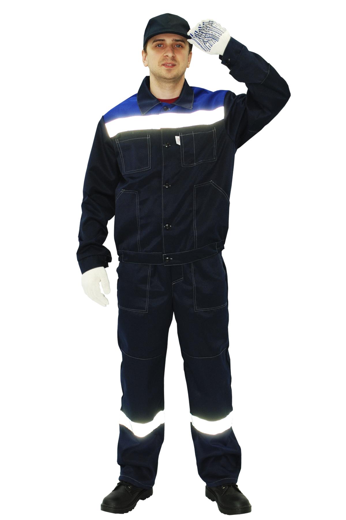 Костюм «Легион» куртка+п/к, синий+василек