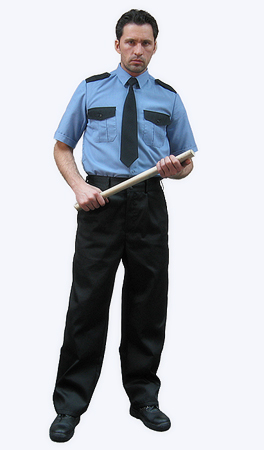 Рубашка охранника короткий рукав