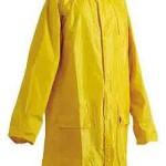 Плащ нейлоновый (желтый)