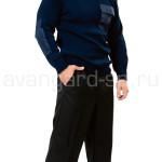 Джемпер форменный темно-синий