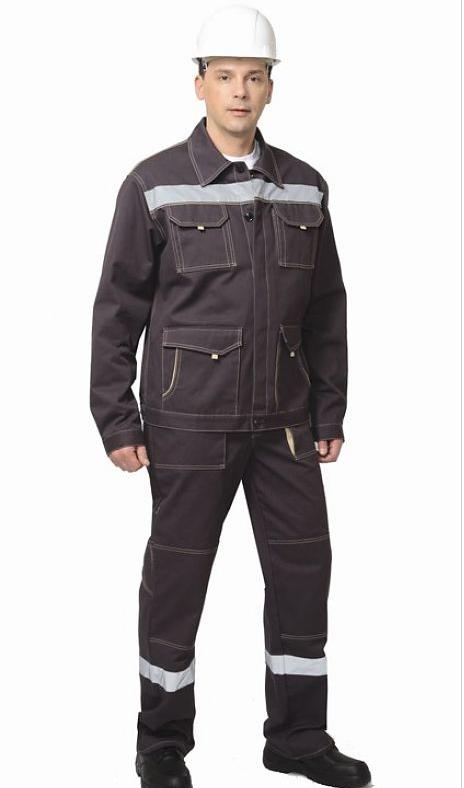 Костюм «Троя» куртка, брюки (коричневый с СОП)
