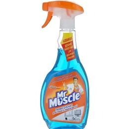 Моющее средство Мистер Мускул для стекол 500мл.