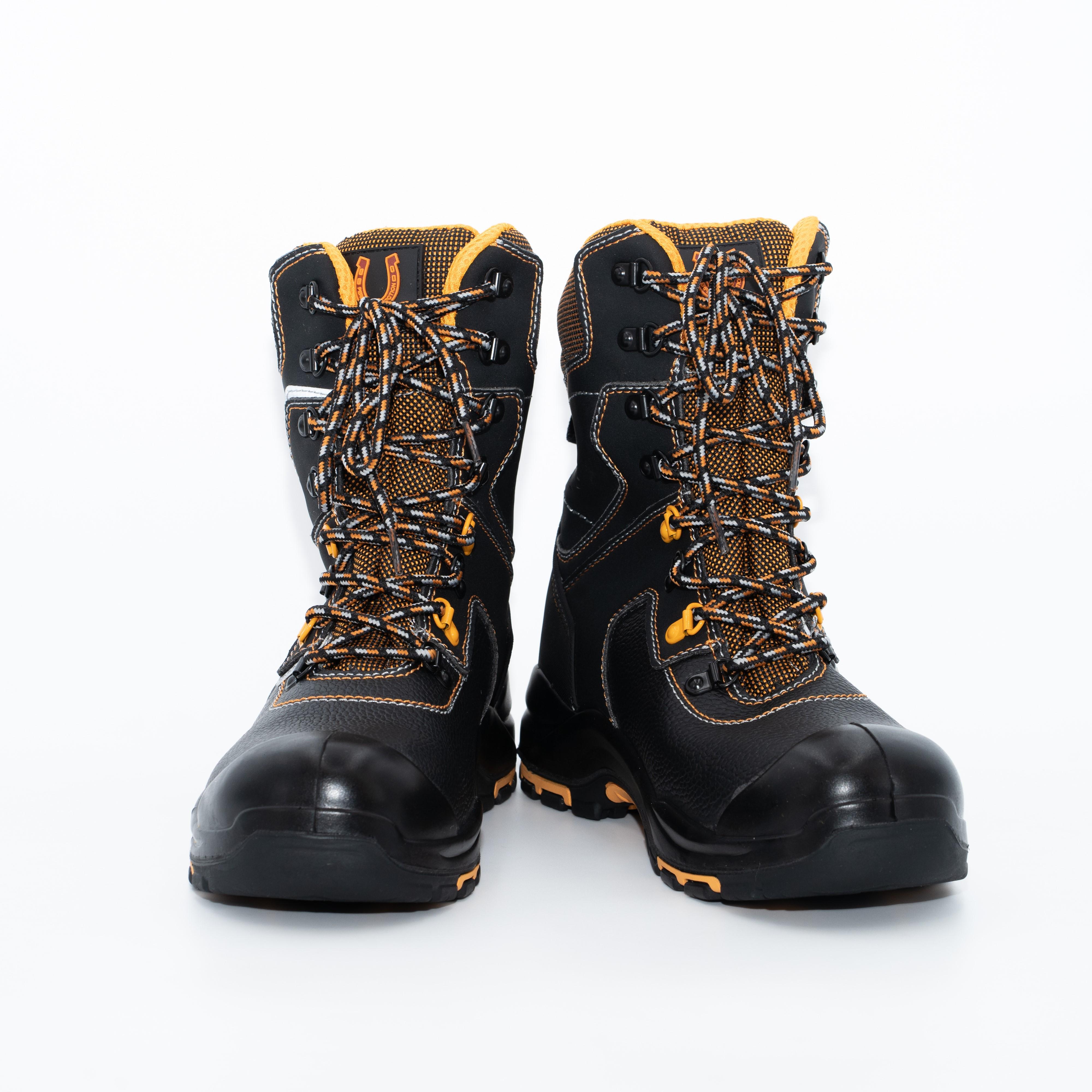 Ботинки с высоким берцем «PERFECT PROTECTION»  PRB10N — CK ПУ-Нитрил с ПП  и АС