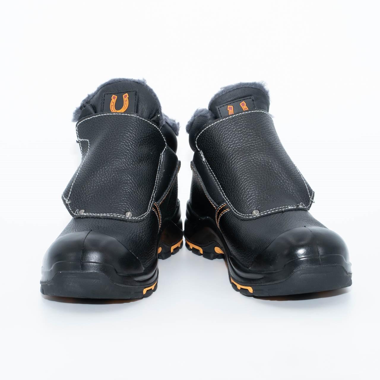 Ботинки сварщик утеплённые «PERFECT PROTECTION» ПУ-Нитрил с ПП и АС