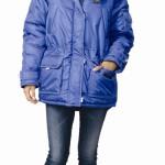 Куртка «АЛЯСКА» женская васильковая
