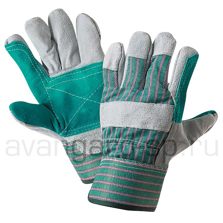 Перчатки спилковые «Doker»