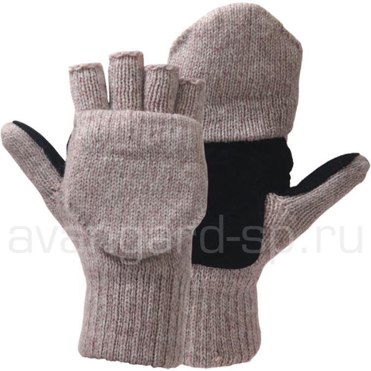 Перчатки-варежки шерстяные «Эвены»