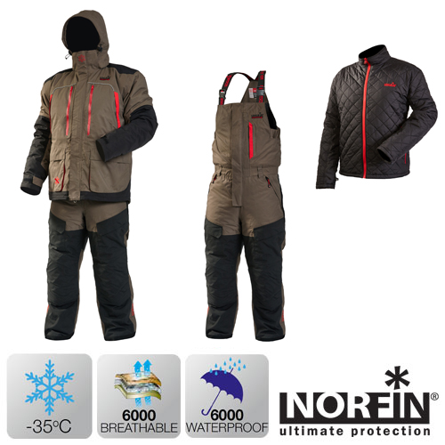 Kостюм зимний Norfin EXTREME 4