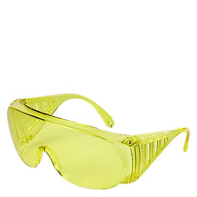 Очки «Исток» с прямой вентиляцией желтые
